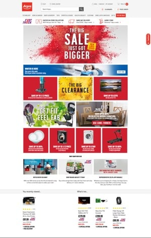 Rule Breakers - How Large Online Retailers' Homepages Have Banners To Excess