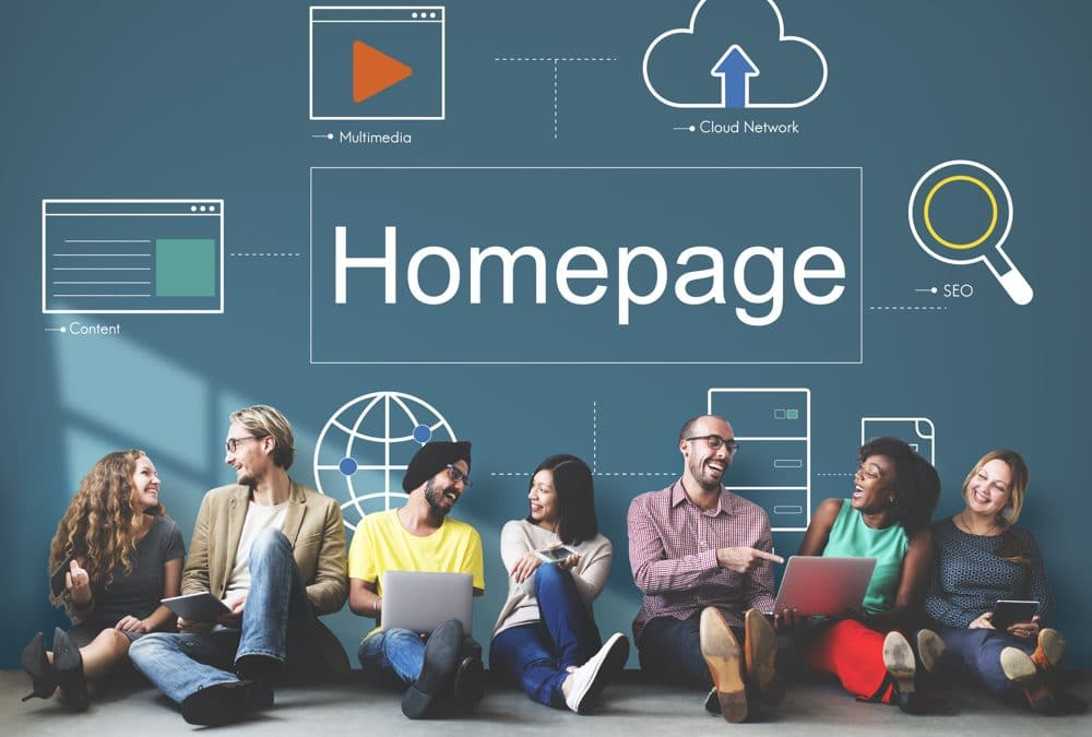 Designing a great homepage